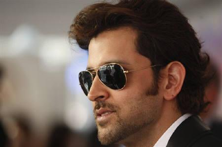 Hrithik Roshan in New York City May 16, 2010. REUTERS/Jessica Rinaldi/Files