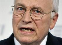 <p>Former U.S. Vice President Dick Cheney speaks about national security at the American Enterprise Institute in Washington, May 21, 2009. REUTERS/Joshua Roberts/Files</p>