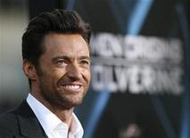 <p>Hugh Jackman at the Grauman's Chinese theatre in Hollywood, California April 28, 2009. REUTERS/Mario Anzuoni</p>