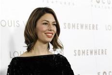 "<p>Director of the movie Sofia Coppola poses at the premiere of ""Somewhere"" at the Arclight theatre in Hollywood, California December 7, 2010. REUTERS/Mario Anzuoni</p>"