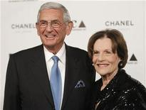 <p>MOCA Gala Chair Eli Broad and his wife Edythe Broad arrive at the annual gala for The Museum of Contemporary Art, Los Angeles (MOCA), in Los Angeles November 13, 2010. REUTERS/Danny Moloshok</p>
