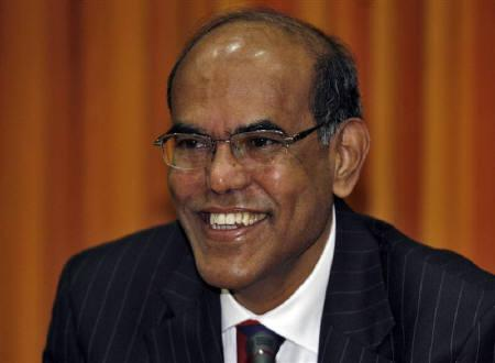 Reserve Bank of India Governor Duvvuri Subbarao poses before a meeting with bankers at the head office in Mumbai April 20, 2010. REUTERS/Arko Datta/Files