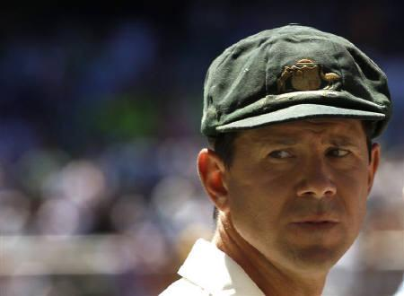 Australia's Ricky Ponting looks on after England's win on the fourth day of the fourth Ashes cricket test at the Melbourne Cricket Ground December 29, 2010. REUTERS/Mick Tsikas/Files
