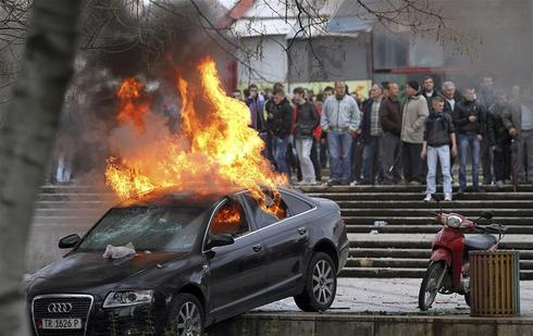 Unrest in Albania