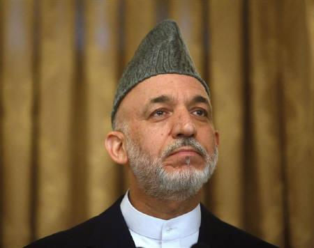 Afghan President Hamid Karzai  in Kabul August 20, 2009. REUTERS/Ahmad Masood/Files