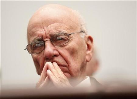 News Corporation CEO Rupert Murdoch testifies before a House subcommittee on Capitol Hill in Washington in this September 30, 2010 file photo. REUTERS/Richard Clement