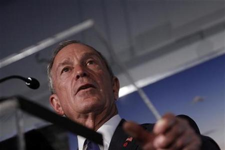 New York City Mayor Michael Bloomberg attends a news conference in New York, September 7, 2010. REUTERS/Eric Thayer