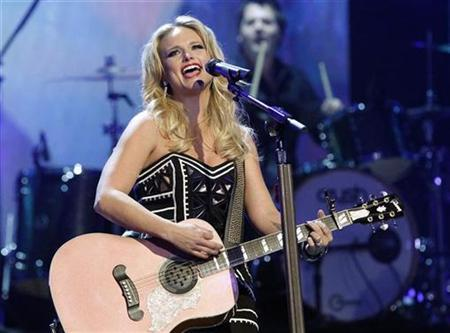 Musician Miranda Lambert performs ''Only Prettier'' at The Grammy Nominations Concert Live - Countdown to the Music's Biggest Night event in Los Angeles December 1, 2010. REUTERS/Mario Anzuoni
