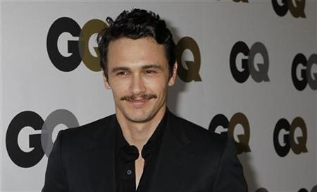 Actor James Franco arrives at the GQ Magazine 2010 ''Men of the Year'' party where he was honoured as one of the ''Men of the Year'' in Hollywood, California, November 17, 2010. REUTERS/Fred Prouser