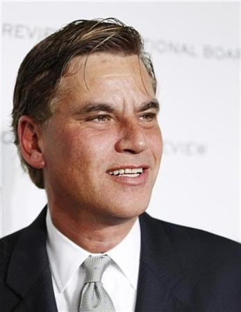 Screenwriter Aaron Sorkin of the film ''The Social Network'' arrives for the National Board of Review of Motion Pictures Awards Gala in New York January 11, 2011. REUTERS/Lucas Jackson