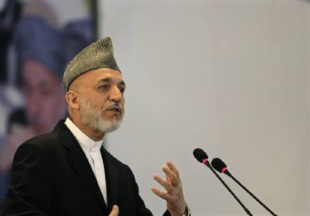 Afghan President Hamid Karzai in Kabul September 28, 2010. REUTERS/Omar Sobhani/Files