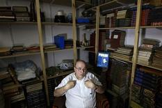 <p>Mario Rotundo, a former private aide to General Juan Peron, speaks during an interview with Reuters at his apartment in Buenos Aires, February 10, 2011. REUTERS/Marcos Brindicci</p>