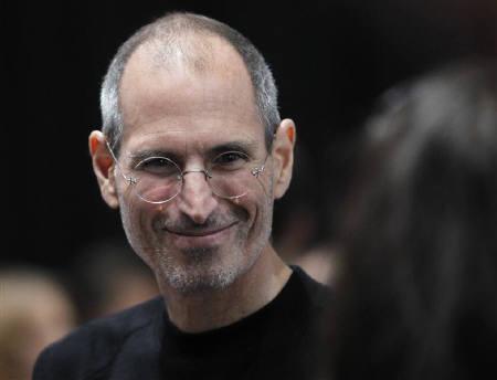 Apple Chief Executive Steve Jobs  in San Francisco, California September 1, 2010. REUTERS/Robert Galbraith/Files
