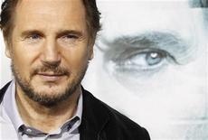 """<p>Imagen de archivo de Liam Neeson, protagonista de la cinta """"Unknown"""", durante la premiere de la película en Los Angeles, EEUU. feb 16 2011. La película """"Unknown"""" alcanzó el primer puesto de la taquilla estadounidense con ventas de entradas por 21,8 millones de dólares durante el fin de semana largo por el """"Día del Presidente"""" en Estados Unidos. REUTERS/Mario Anzuoni/Archivo</p>"""