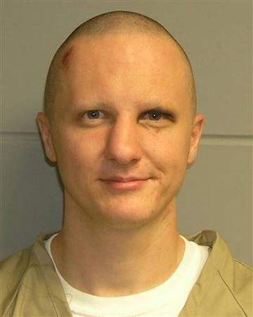 Tuscon shooting rampage suspect Jared Lee Loughner is pictured in this undated booking photograph released by the U.S. Marshals Service on February 22, 2011. The 22-year-old college dropout is accused of opening fire on U.S. Representative Gabrielle Giffords and a crowd of bystanders outside a grocery store on January 8, 2011, killing six people including a federal judge, and wounding 13. Giffords was shot in the head but survived. REUTERS/U.S. Marshals Service/Handout THIS IMAGE HAS BEEN SUPPLIED BY A THIRD PARTY. IT IS DISTRIBUTED, EXACTLY AS RECEIVED BY REUTERS, AS A SERVICE TO CLIENTS