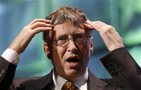 Bill Gates speaks at the Foundation for the National Institutes of Health (NIH) 2010 mHealth Summit in Washington November 9, 2010. REUTERS/Kevin Lamarque