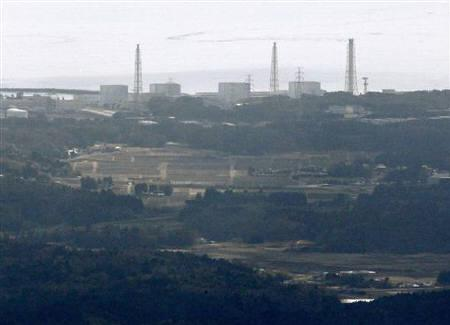 Fukushima Nuclear Plant reactor number 1 Daiichi facility is seen in Fukushima Prefecture, northeastern Japan March 12, 2011. REUTERS/Kyodo