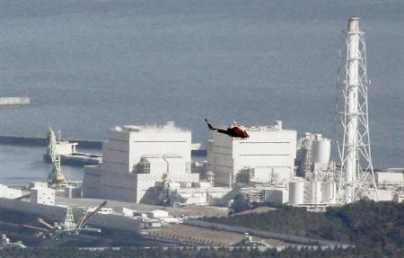 3月15日、米GEの元社員が35年前、福島第1原発(写真)の「マークI型」原子炉の安全性に対する懸念が理由で、同社を退社していたことが明らかになった。12日撮影(2011年 ロイター/Kim Kyung-Hoon)