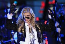 <p>Singer Ke$ha performs during New Year's Eve celebrations in Times Square in New York December 31, 2010. REUTERS/Lucas Jackson</p>