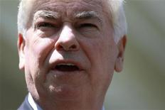 <p>Christopher Dodd in Washington, May 21, 2010. REUTERS/Jason Reed</p>