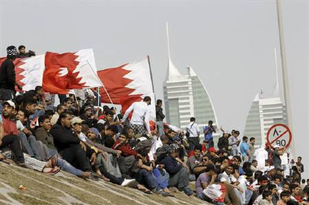 Bahraini anti-government protesters take a rest from demonstrations in central Manama, February 16, 2011. REUTERS/Hamad I Mohammed/Files
