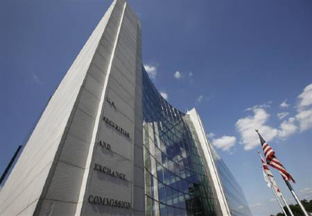 The headquarters of the U.S. Securities and Exchange Commission (SEC) are seen in Washington, July 6, 2009. REUTERS/Jim Bourg/Files