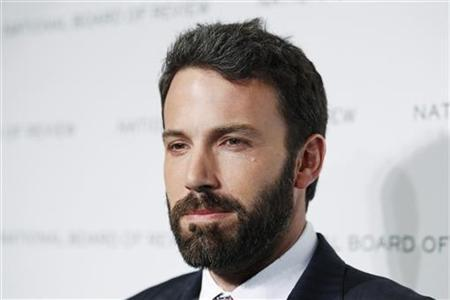 Ben Affleck of the film ''The Town'' arrives for the National Board of Review of Motion Pictures Awards Gala in New York January 11, 2011. REUTERS/Lucas Jackson