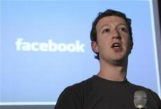 "<p>Facebook Founder & Chief Executive Officer Mark Zuckerberg, launches Facebook's ""open compute program"" at Facebook's headquarters in Palo Alto, California April 7, 2011. REUTERS/Norbert von der Groeben</p>"