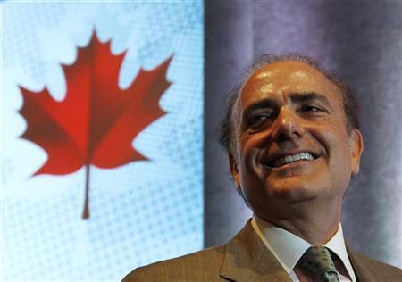 Air Canada's President and CEO Calin Rovinescu attends the company's annual shareholders meeting in Montreal, May 27, 2010. REUTERS/Shaun Best