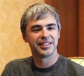 <p>Presidente-executivo e co-fundador do Google, Larry Page, em foto de julho de 2010. Page está sendo observado de perto por investidores que aguardam suas visões sobre gastos e competição com a divulgação do balanço do Google na quinta-feira. 08/07/2010 REUTERS/Mario Anzuoni/Arquivo</p>