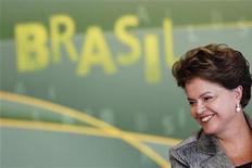 <p>A presidente Dilma Rousseff participa de cerimônia no Palácio do Planalto, em Brasília. 21/03/2011 REUTERS/Ueslei Marcelino</p>