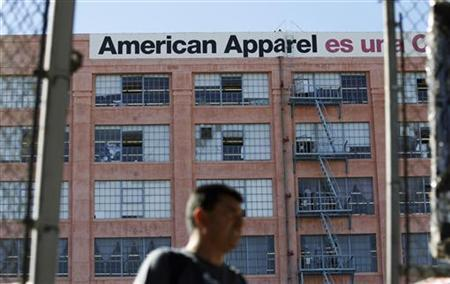 The American Apparel headquarters in Los Angeles, April 1, 2011. REUTERS/Mario Anzuoni