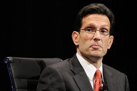 House Republican Leader Eric Cantor in Washington, November 16, 2010. REUTERS/Jonathan Ernst