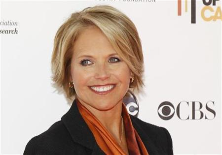 CBS news anchor Katie Couric poses at the ''Stand Up To Cancer'' television event, aimed at raising funds to accelerate innovative cancer research, at the Sony Studios Lot in Culver City, California September 10, 2010. REUTERS/Danny Moloshok