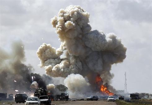 Air strikes in Libya