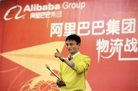 Chairman and chief executive of Alibaba Group Jack Ma speaks at a news conference in Beijing, January 19, 2011. REUTERS/Jason Lee