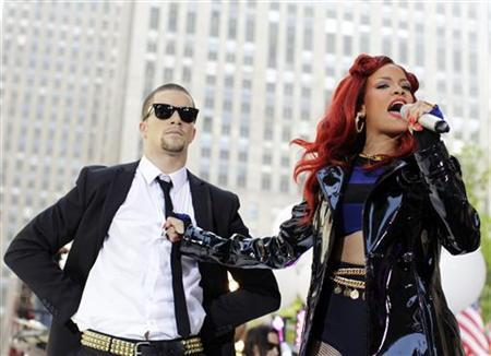 Singer Rihanna performs on NBC's ''Today'' show in New York, May 27, 2011. REUTERS/Brendan McDermid
