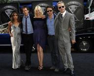 """Elenco de """"X-Men: Primeira Classe"""" chega à pré-estréia do filme em Nova York, 25 de maio de 2011. 25/05/2011 REUTERS/Jessica Rinaldi"""