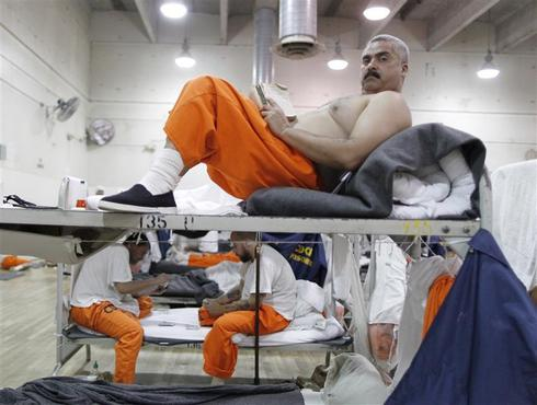 A day in an overcrowded prison