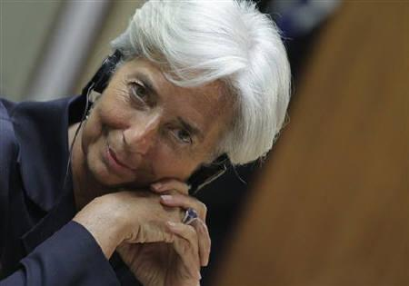 France's Finance and Economy Minister Christine Lagarde attends a news conference in Brasilia May 30, 2011. REUTERS/Ueslei Marcelino