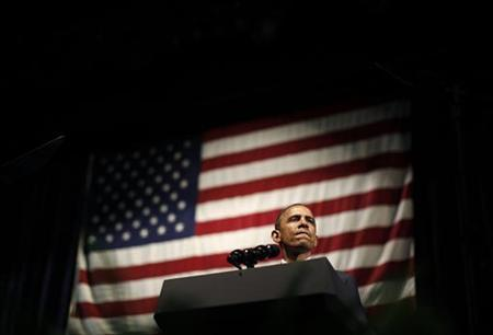 President Barack Obama delivers remarks at a DNC event at Austin City Limits Moody Theater in Austin, Texas, May 10, 2011. REUTERS/Jim Young