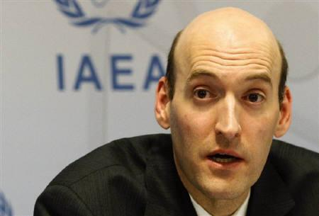 Chairman of the U.S. Nuclear Regulatory Commission (NRC) Gregory Jaczko attends a press briefing at the United Nations headquarters in Vienna April 4, 2011. REUTERS/Herwig Prammer/Files