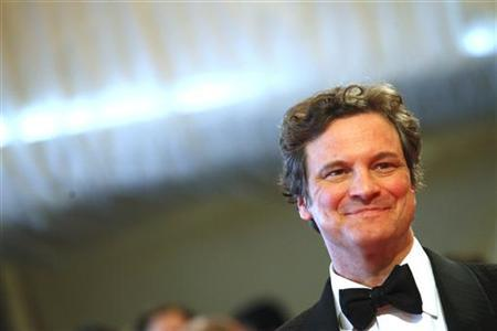 Actor Colin Firth arrives at the Metropolitan Museum of Art Costume Institute Benefit celebrating the opening of Alexander McQueen: Savage Beauty in New York, May 2, 2011. REUTERS/Eric Thayer