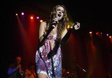 <p>Joss Stone performs in Buenos Aires in a file photo. REUTERS/Marcos Brindicci</p>
