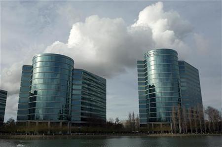 The headquarters of Oracle Corporation are shown in Redwood City, California February 2, 2010. Picture taken February 2, 2010. REUTERS/Robert Galbraith