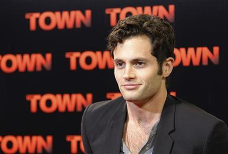 Actor Penn Badgley arrives for the premiere of the movie ''The Town'' at Fenway Park in Boston, Massachusetts September 14, 2010. REUTERS/Brian Snyder