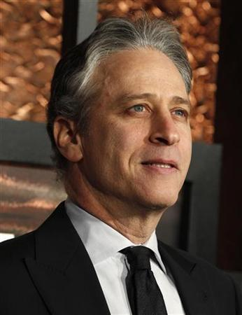 Actor Jon Stewart arrives at ''The Comedy Awards'' in New York City March 26, 2011. REUTERS/Jessica Rinaldi