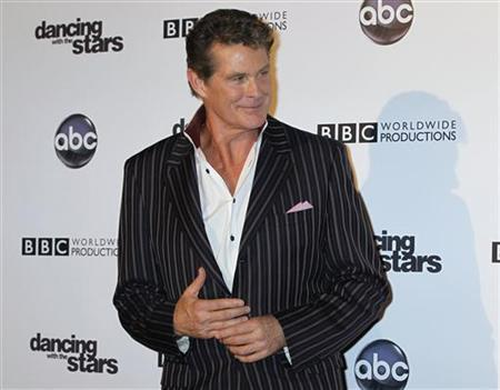 David Hasselhoff arrives at the 200th Episode Celebration of ABC's ''Dancing with the Stars'' in Hollywood, California November 1, 2010. REUTERS/Fred Prouser