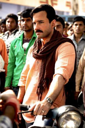 Actor Saif Ali Khan in a scene from the latest Prakash Jha film 'Aarakshan'. Reuters/Handout