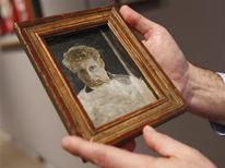 Foto de arquivo de retrato do pintor Lucian Freud, que morreu aos 88 anos.  REUTERS/Shannon Stapleton